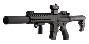 Sig Sauer MCX .177 Co2 Powered SIG20R Red Dot Air Gun