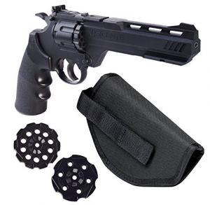Crosman Vigilante 357 Co2 Air Pistol Kit with holster and magazines