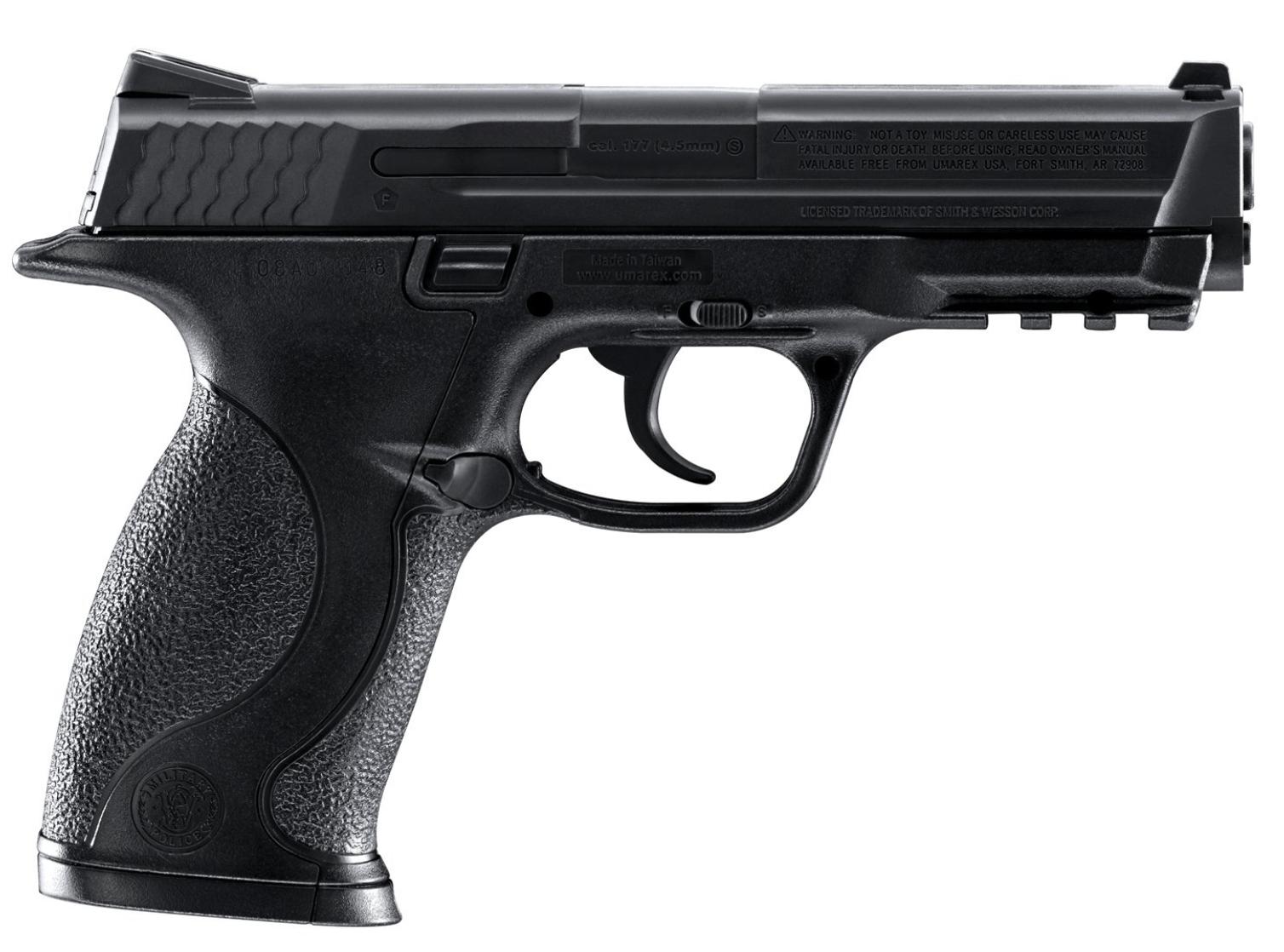 Smith & Wesson M&P Airgun Air Pistol Review - RifleZone com