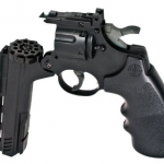 Crosman Vigilante 357 Co2 .177 Air Pistol Kit
