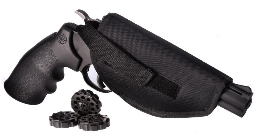 Crosman Vigilante 357 Co2 Air Pistol Kit Review - RifleZone com