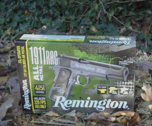 Remington 89260 Remington 1911RAC CO2 BB Pistol - packaging