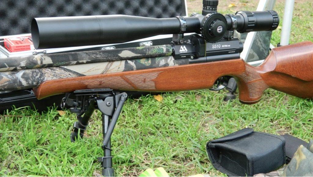 Air Arms S510 Xtra FAC PCP Air Rifle - great gun for advanced shooters