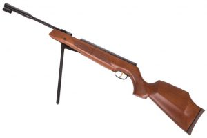 Beeman HW97K air rifle - medium loudness pellet rifle